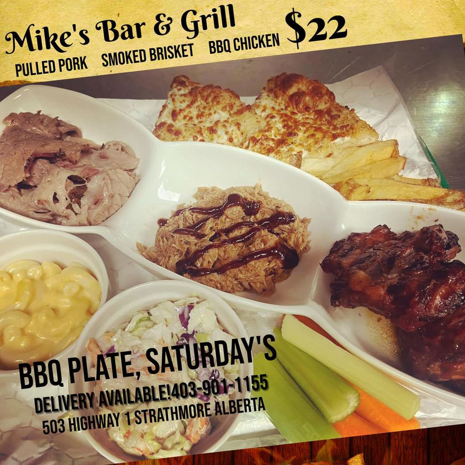 Mike's Bar & Grill Saturday Special