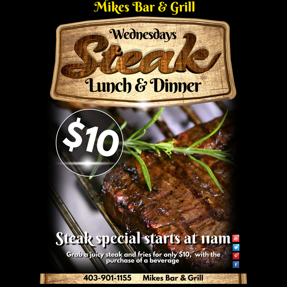 Mike's Bar & Grill Friday Special